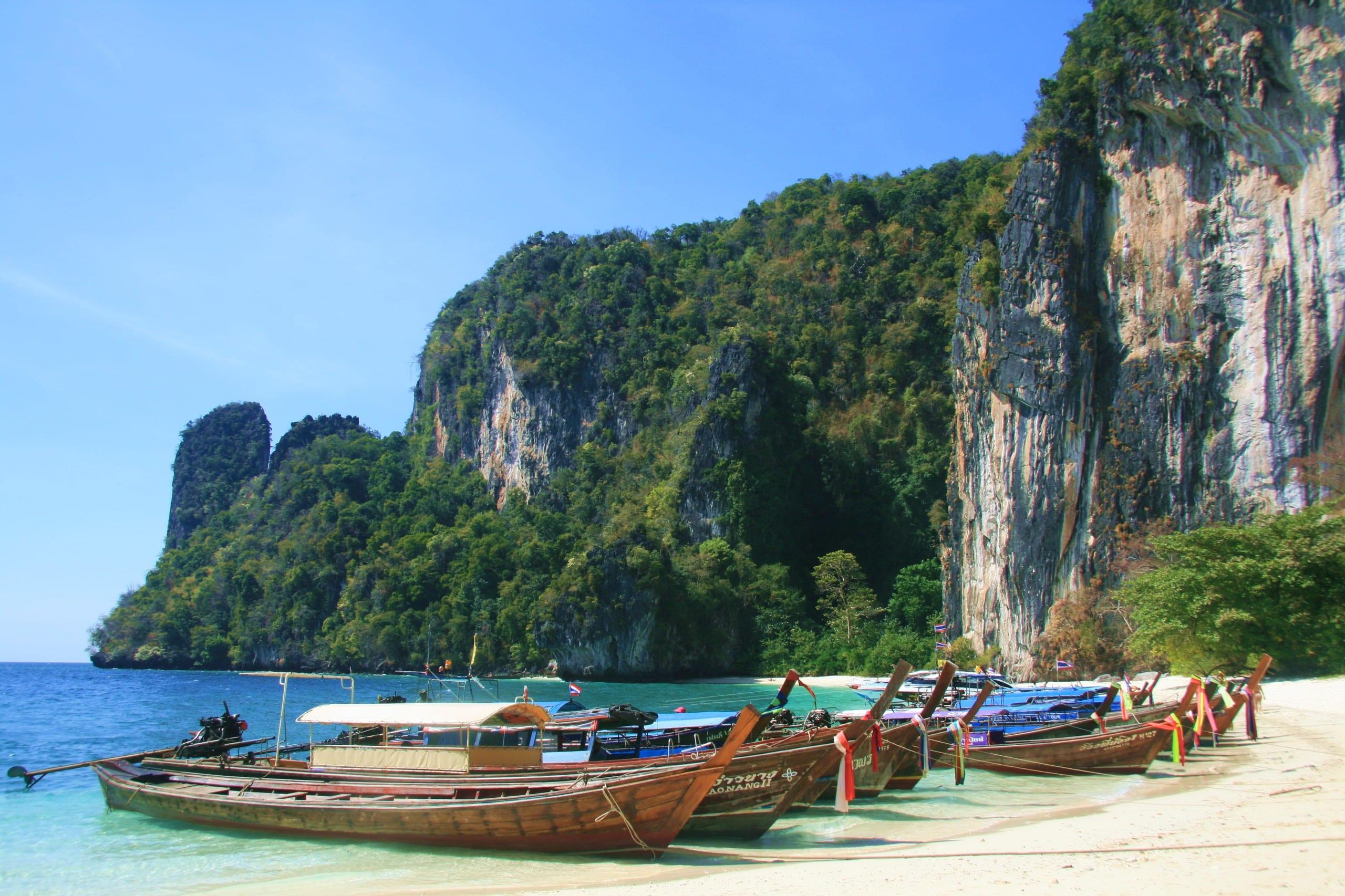 Circuit en thailande en famille