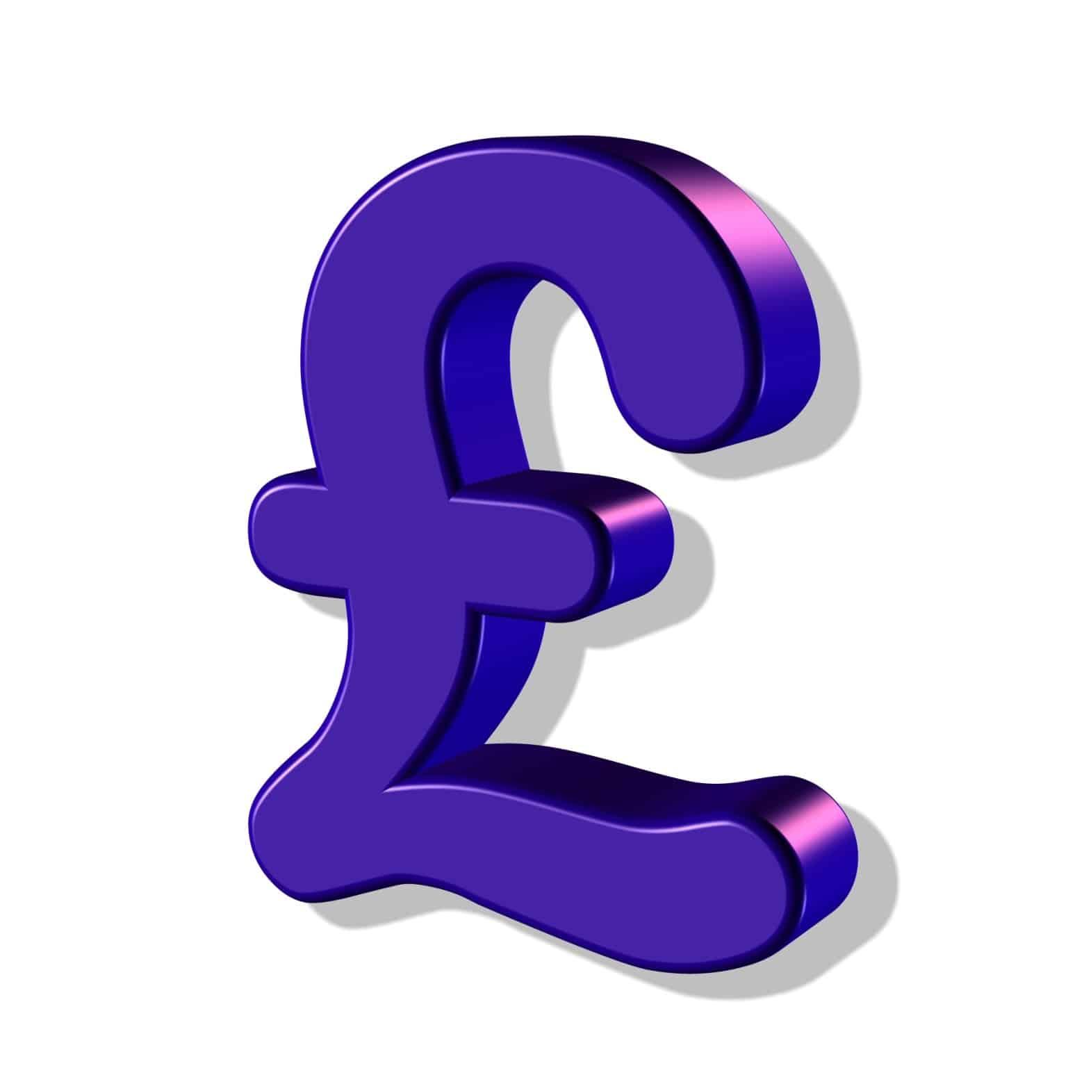 La livre sterling : elle est beaucoup plus forte que l'euro